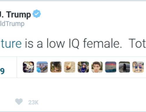 President Donald Trump Lashes out at Mother Nature for Being a Woman